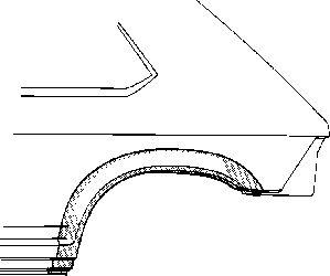 Panneau latéral - VAN WEZEL - 1725146