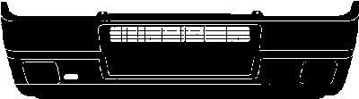 Pare-chocs - VAN WEZEL - 1735576