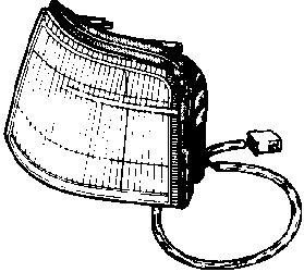 Feu clignotant - VAN WEZEL - 1735902