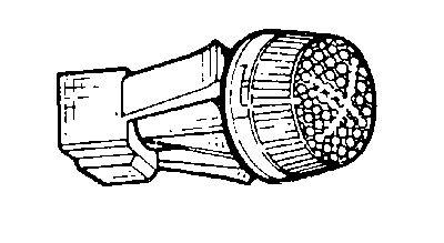Feu clignotant - VAN WEZEL - 1751914