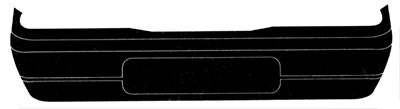 Pare-chocs - VAN WEZEL - 1758542