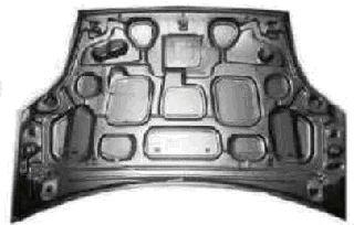 Capot-moteur - VAN WEZEL - 1806660