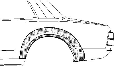 Panneau latéral - VWA - 88VWA1817.45
