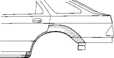 Panneau latéral - VWA - 88VWA1825148