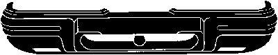 Pare-chocs - VAN WEZEL - 1822576