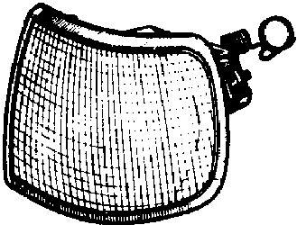 Feu clignotant - VAN WEZEL - 1822902