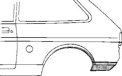 Panneau latéral - VAN WEZEL - 1833134