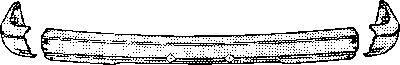 Pare-chocs - VAN WEZEL - 1836563