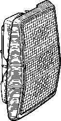 Feu arrière - VAN WEZEL - 1836931