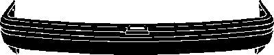 Pare-chocs - VAN WEZEL - 1837544