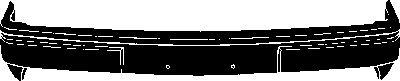 Pare-chocs - VAN WEZEL - 1837572B