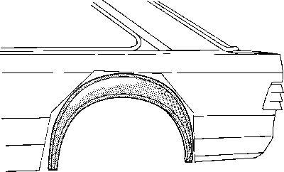 Passage de roue - VWA - 88VWA1844345