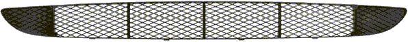 Grille de ventilation, pare-chocs - VAN WEZEL - 1858590