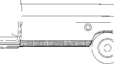 Panneau latéral - VAN WEZEL - 1890.02