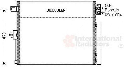 Condenseur, climatisation - VWA - 88VWA21005061