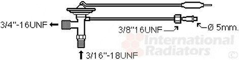 Détendeur, climatisation - VAN WEZEL - 25001272