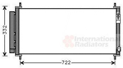 Condenseur, climatisation - VAN WEZEL - 25005264