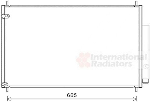 Condenseur, climatisation - VWA - 88VWA25005279