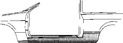 Marche-pied - VWA - 88VWA2508101