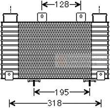 Intercooler, échangeur - VAN WEZEL - 27004250