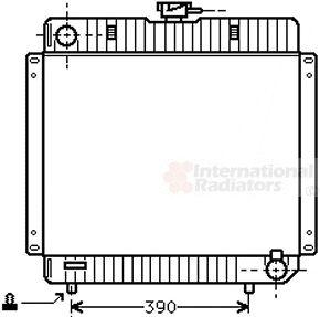 Radiateur, refroidissement du moteur - VAN WEZEL - 30002136