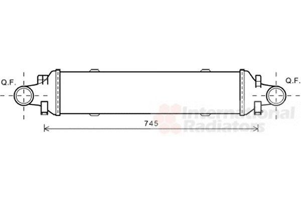 Intercooler, échangeur - VWA - 88VWA30004593