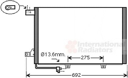 Condenseur, climatisation - VWA - 88VWA30005578