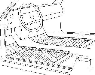 Plancher de carrosserie - VAN WEZEL - 3003286