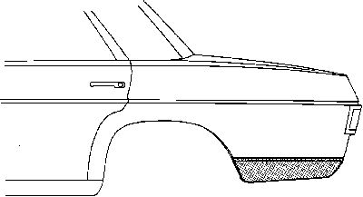 Panneau latéral - VAN WEZEL - 3003.34