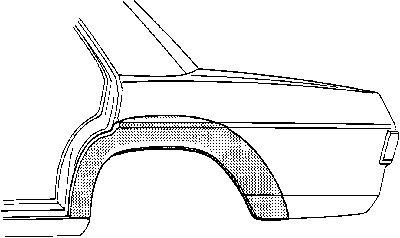 Panneau latéral - VAN WEZEL - 3003.45