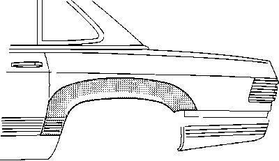 Panneau latéral - VWA - 88VWA3008145