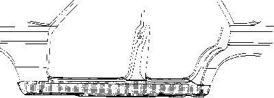 Marche-pied - VWA - 88VWA3010103