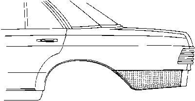 Panneau latéral - VAN WEZEL - 3010133