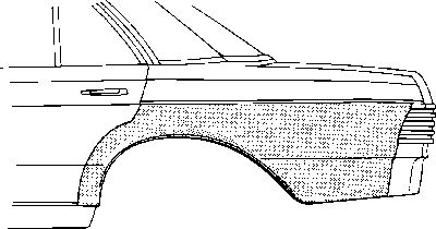 Panneau latéral - VAN WEZEL - 3003143