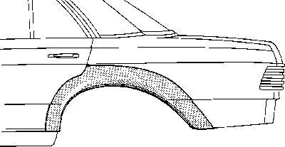 Panneau latéral - VWA - 88VWA3030148