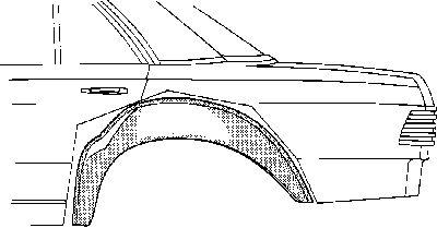 Passage de roue - VAN WEZEL - 3010348
