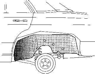 Passage de roue - VAN WEZEL - 3010469