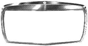 Cadre, grille de radiateur - VAN WEZEL - 3010514