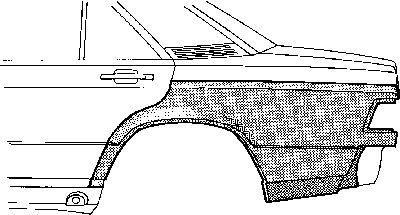 Panneau latéral - VAN WEZEL - 3020144