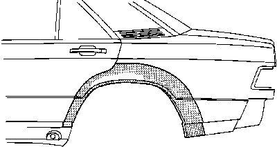 Panneau latéral - VAN WEZEL - 3020147