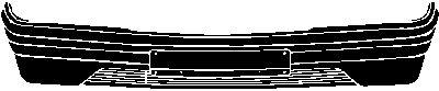 Pare-chocs - VAN WEZEL - 3020576
