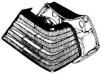 Feu arrière - VAN WEZEL - 3024940