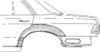 Panneau latéral - VWA - 88VWA3026148