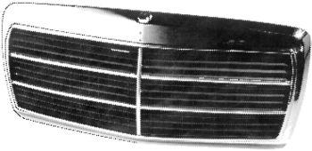 Grille de radiateur - VAN WEZEL - 3030518