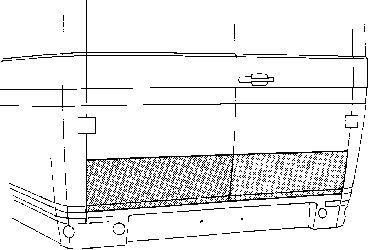 Porte arrière - VAN WEZEL - 3050149