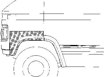 Panneau latéral - VWA - 88VWA3050.55