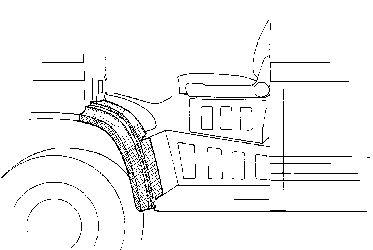 Panneau latéral - VWA - 88VWA3050.58