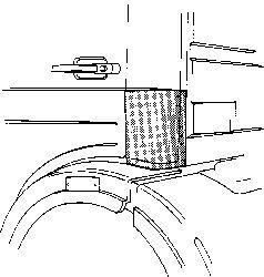 Panneau latéral - VAN WEZEL - 3060134