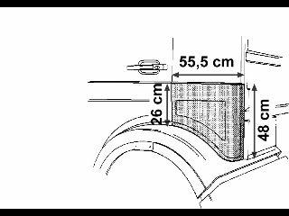 Panneau latéral - VWA - 88VWA3061133