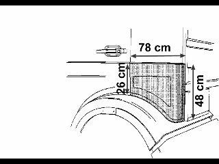 Panneau latéral - VAN WEZEL - 3062133